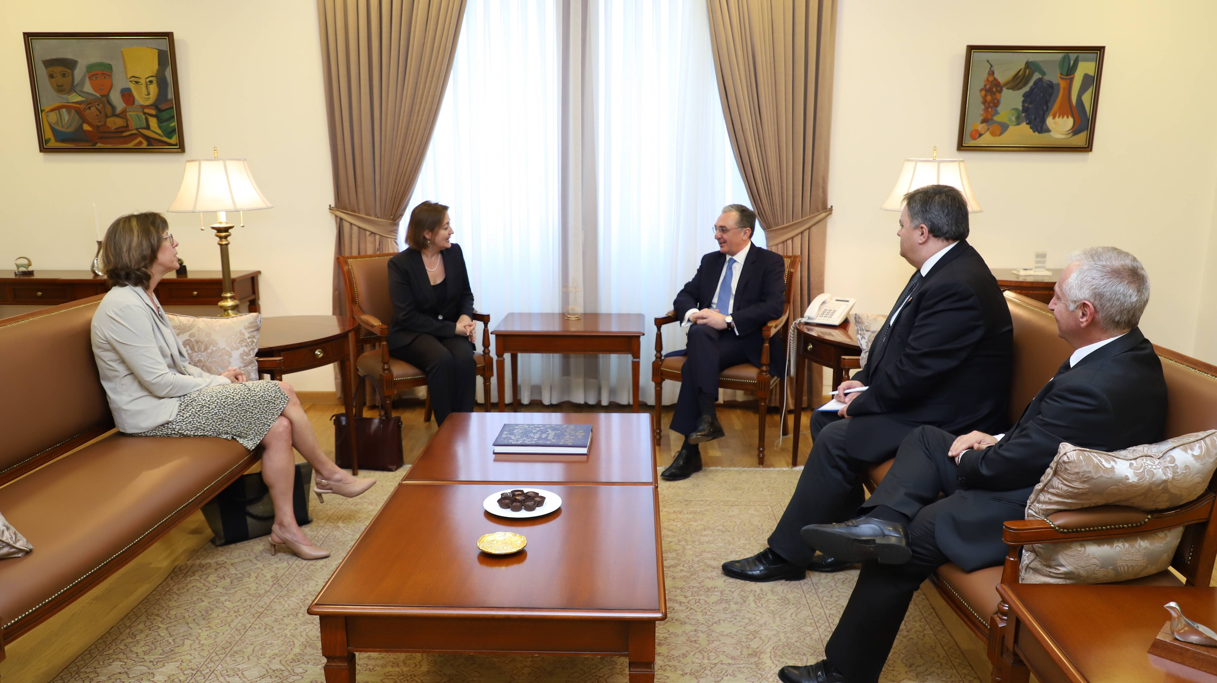 Foreign Minister of Armenia received the Personal Representative of the Prime Minister of Canada