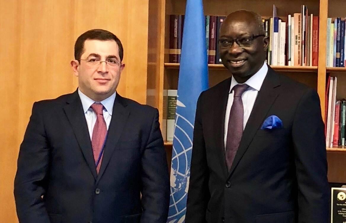 ՄԱԿ-ում ՀՀ մշտական ներկայացուցչի հանդիպումը ՄԱԿ-ի Գլխավոր քարտուղարի Ցեղասպանության կանխարգելման հարցերով հատուկ խորհրդականի հետ