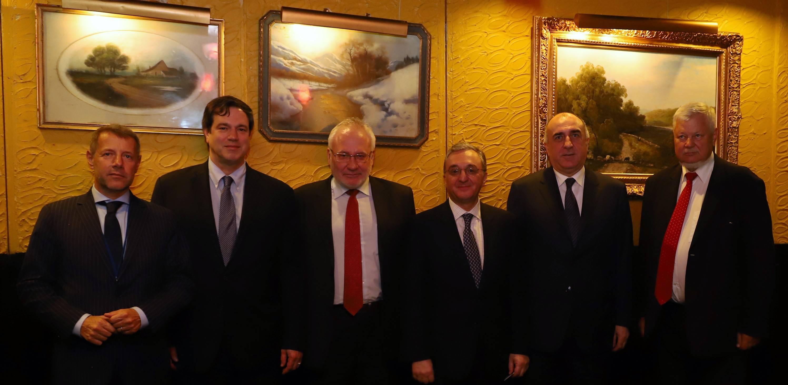 Հայաստանի և Ադրբեջանի արտաքին գործերի նախարարների հանդիպումը