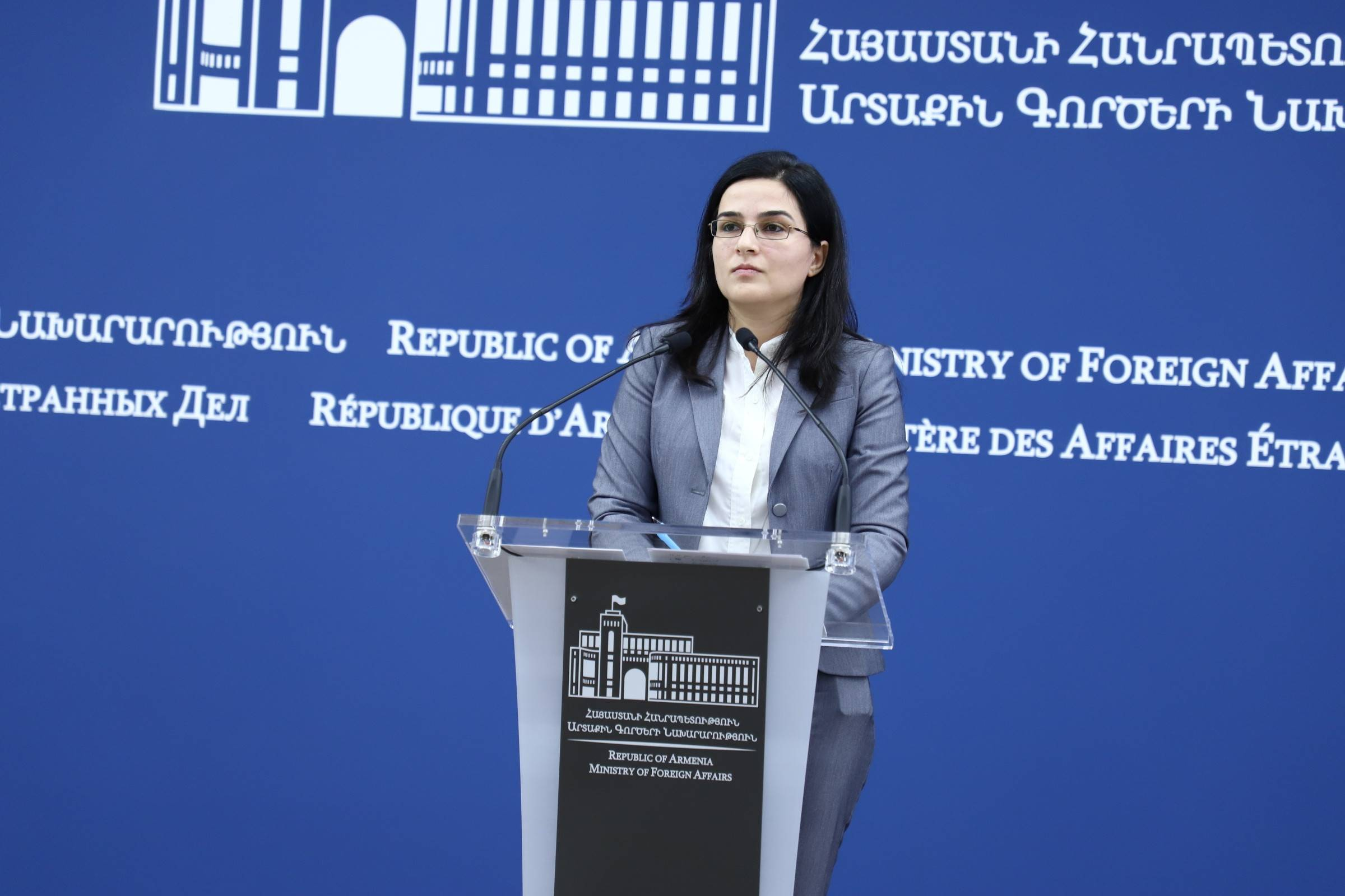 Comment of the MFA spokesperson Anna Naghdalyan on sanctions imposed on Iran