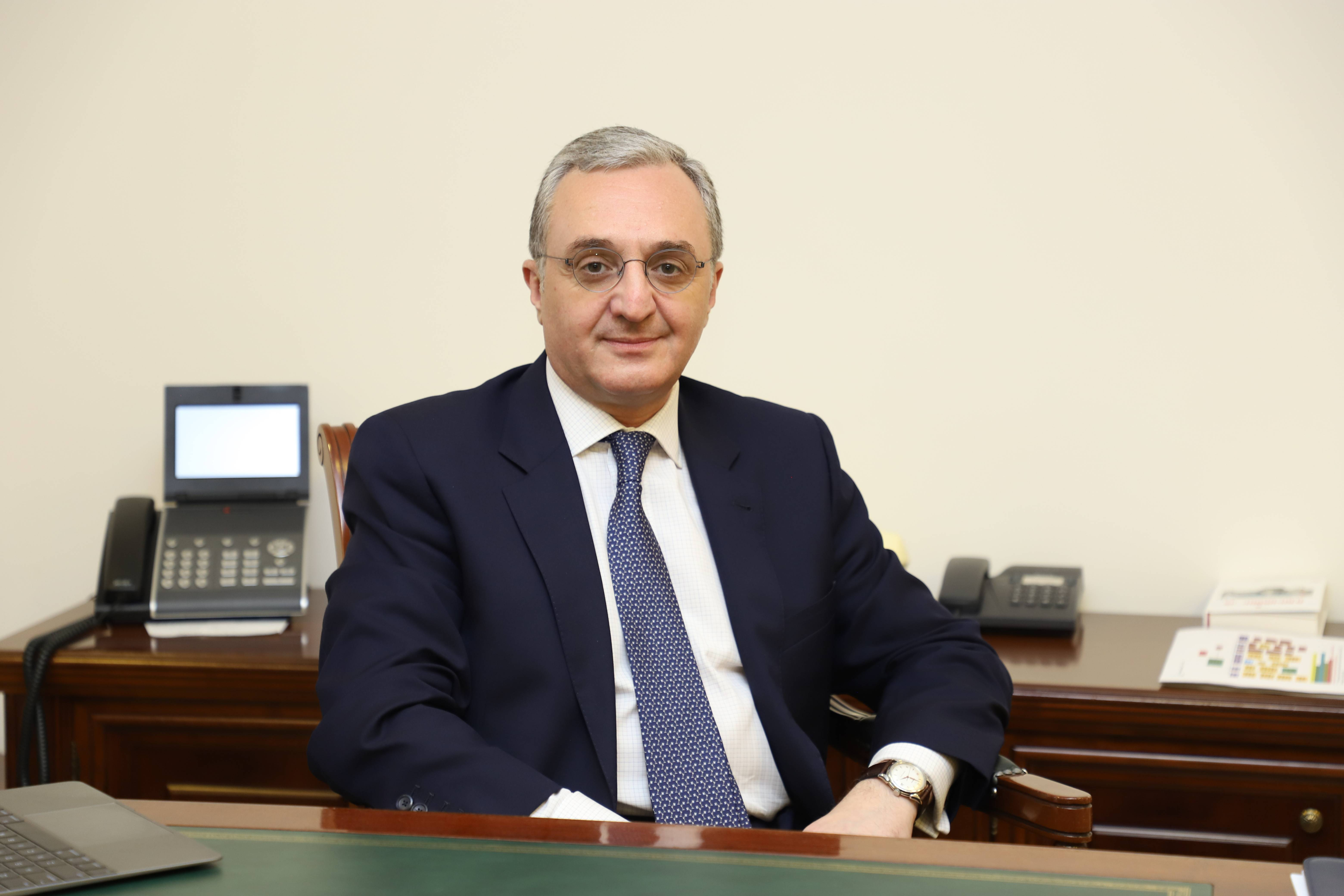 Message by Acting Minister of Foreign Affairs Zohrab Mnatsakanyan to the participants of the 52-nd Plenary Session of the General Assembly of the Parliamentary Assembly of the Black Sea Economic Co-operation
