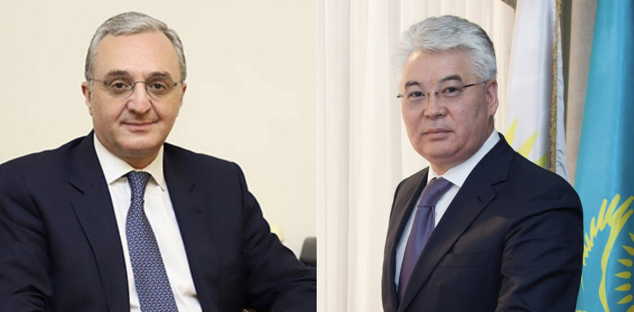 Acting Foreign Minister of Armenia had a phone conversation with the Foreign Minister of Kazakhstan