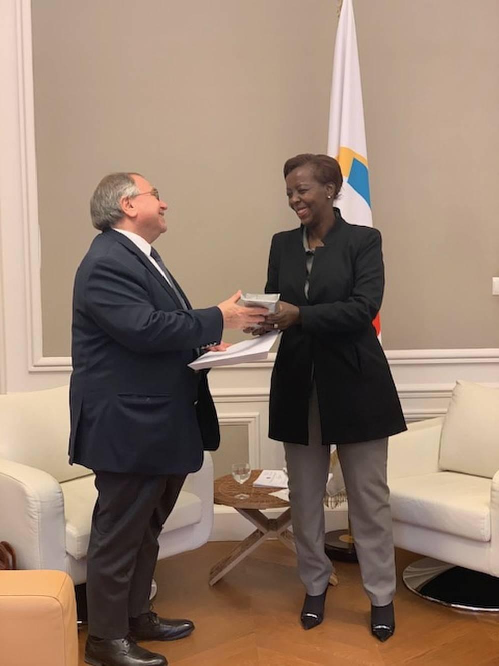 ՖՄԿ-ում ՀՀ ներկայացուցչի և ՖՄԿ Գլխավոր քարտուղարի հանդիպումը