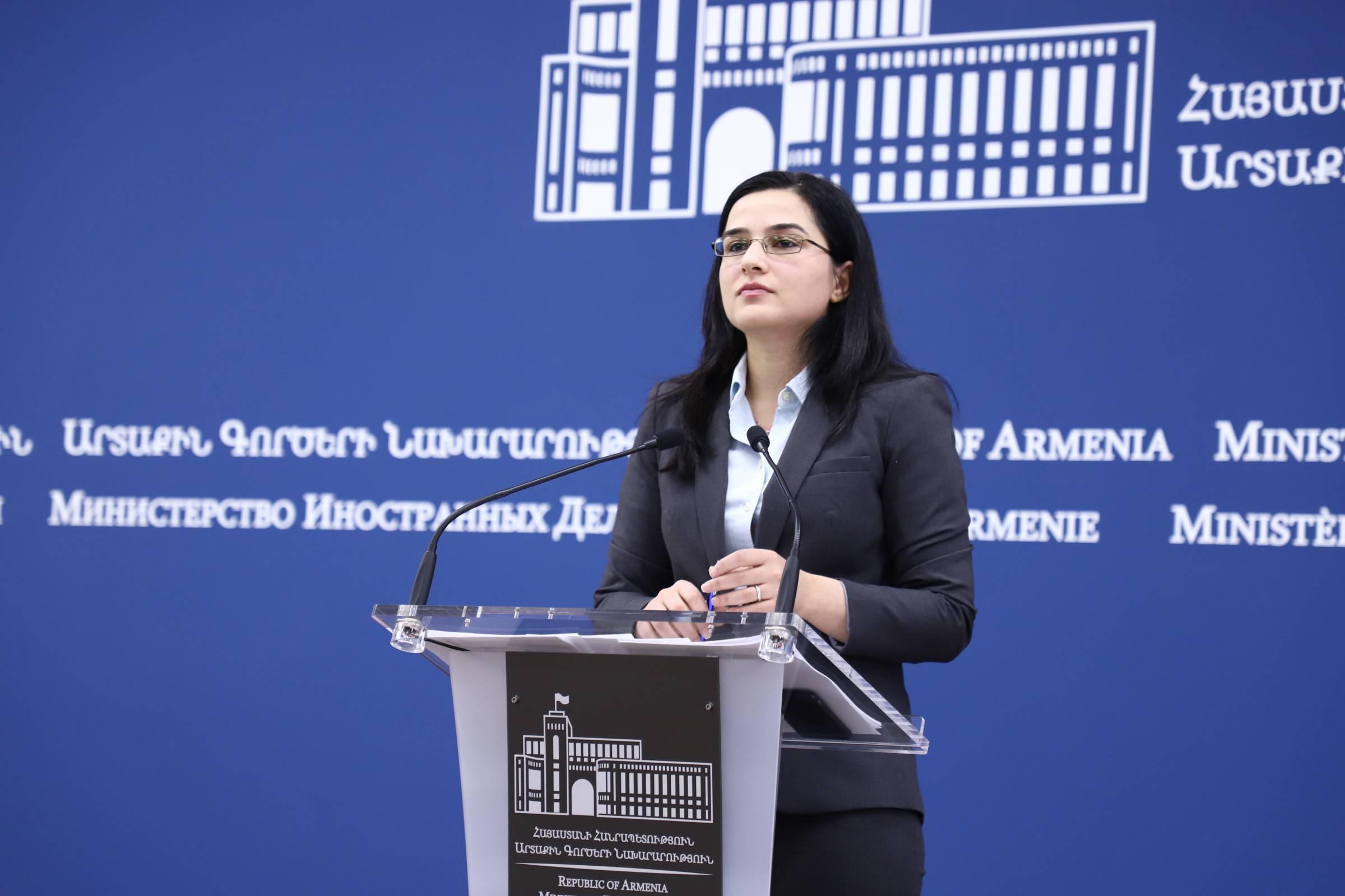 МИД: Детали и сроки визита Станислава Зася в Армению пока не уточнены