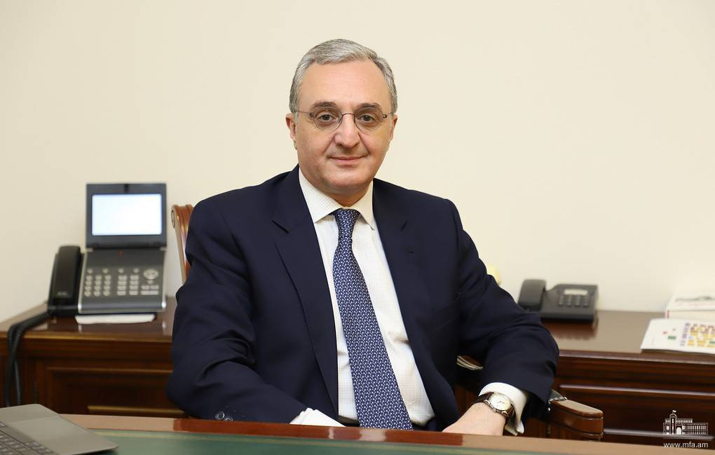 Foreign Minister of Armenia Zohrab Mnatsakanyan's address to the participants of the Armenian Genocide Memorial Event of the Program of Armenian Studies of the Hebrew University of Jerusalem