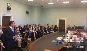 Ambassador Varuzhan Nersesyan's remarks at the event, organized by bipartisan House Democracy Partnership Commission