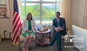 Ambassador Varuzhan Nersesyan's meeting with Assistant Secretary of State Marie Royce