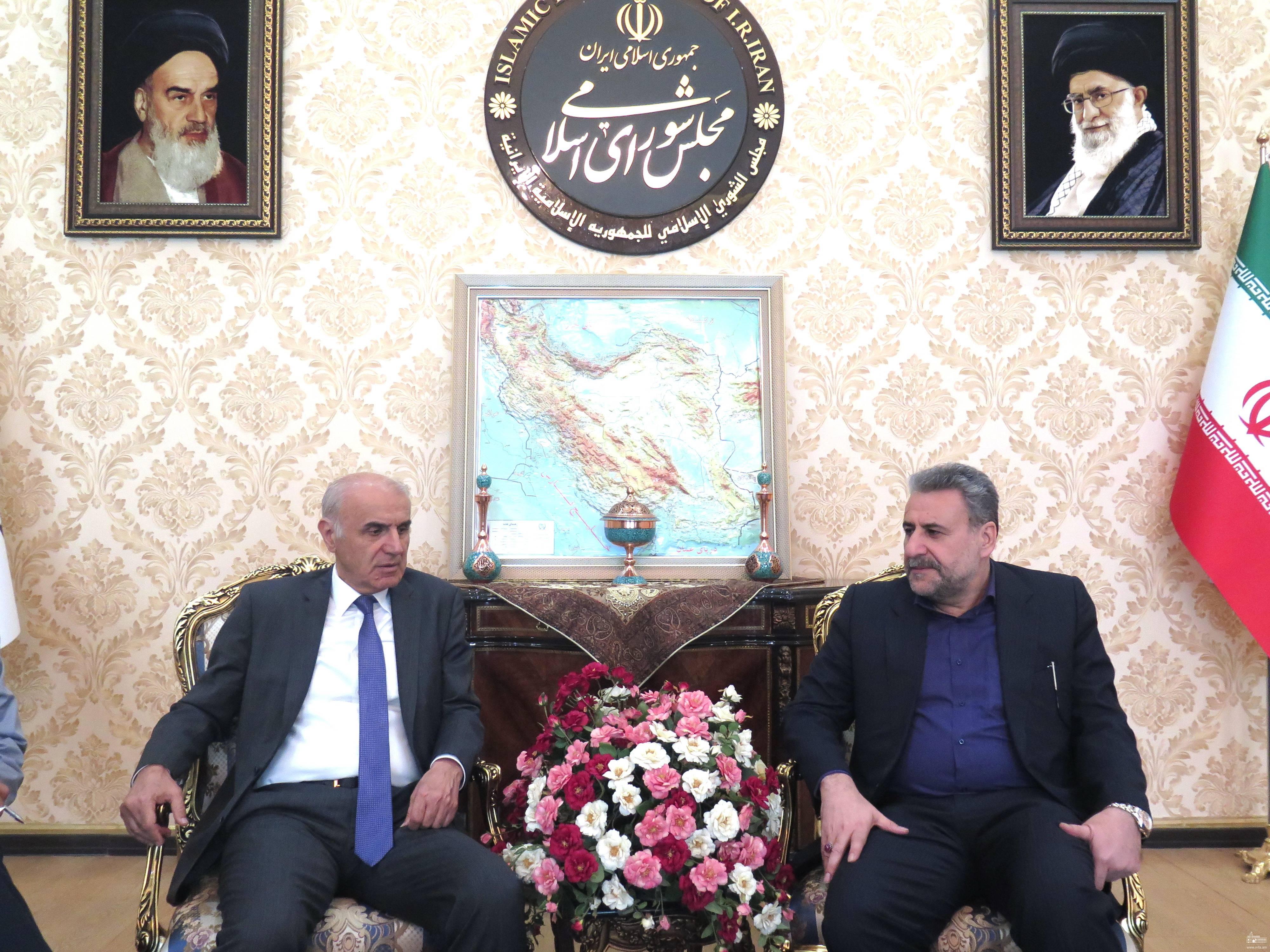 Դեսպան Թումանյանի հանդիպումն ԻԻՀ Մեջլիսի արտաքին հարաբերությունների և ազգային անվտանգության հանձնաժողովի նախագահի հետ