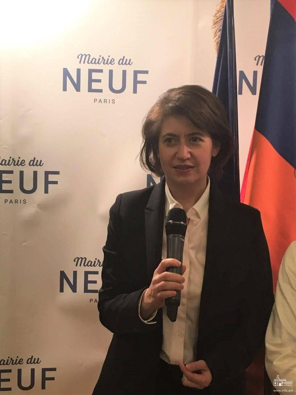 L'entretien de l'ambassadeur d'Arménie Hasmik Tolmajyan à l'agence Armenpress