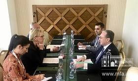Meeting of Foreign Ministers of Armenia and Sweden