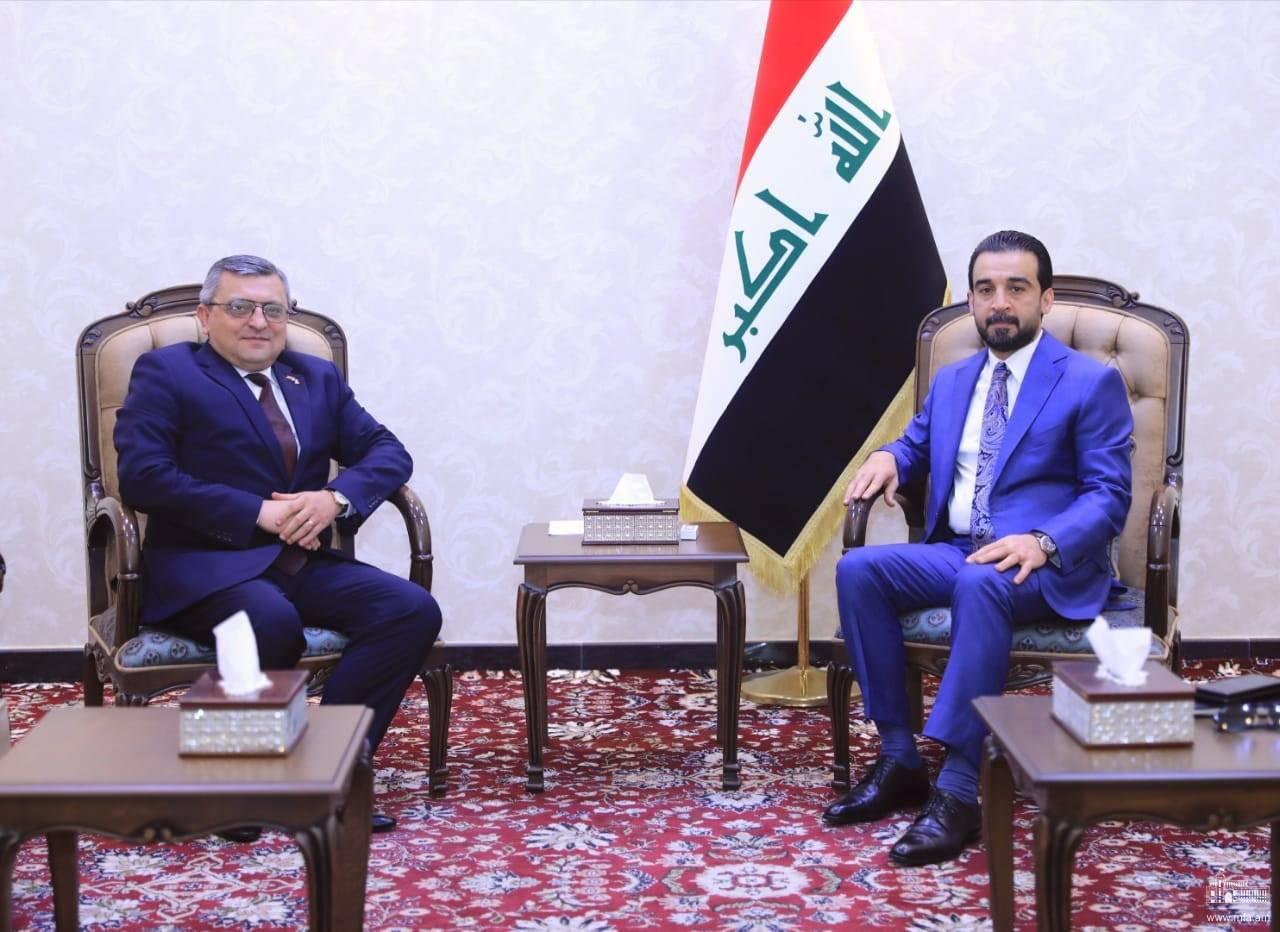 Դեսպան Փոլադյանի հանդիպումը Իրաքի Ներկայացուցիչների ժողովի նախագահի հետ