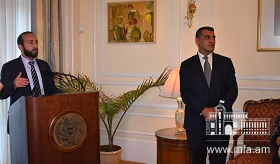Reception at the Embassy of Armenia to the United States in honor of Ararat Mirzoyan, President of the National Assembly of Armenia