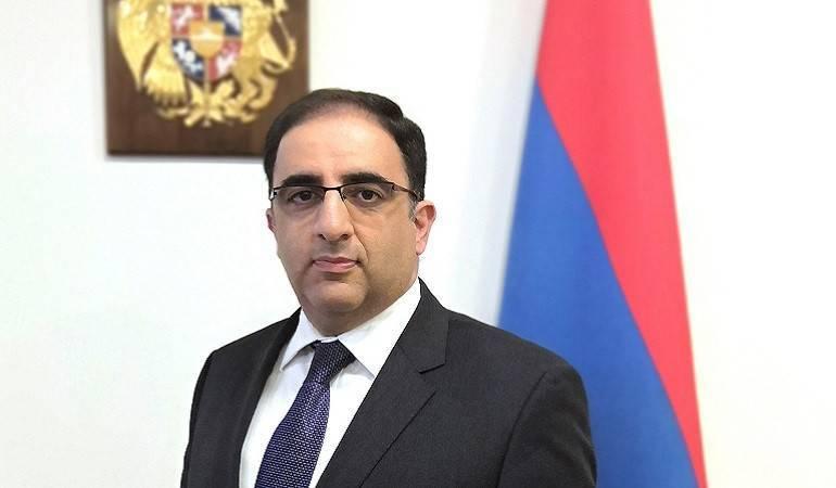 "Ambassador of Armenia to Switzerland gave an interview to the ""International Diplomat"" Geneva magazine"