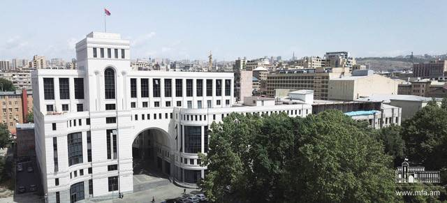 Address of the Foreign Ministry on the occasion of the Independence Day of the Republic of Armenia
