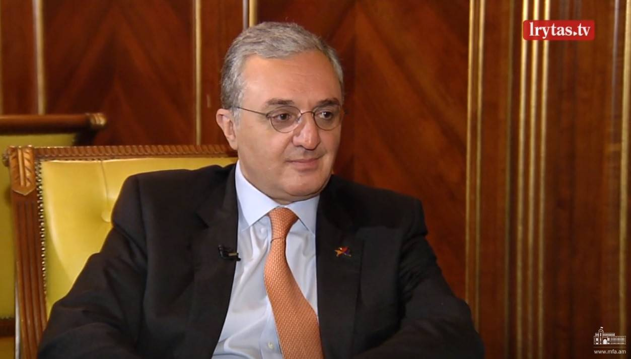 Interview of Foreign Minister Zohrab Mnatsakanyan to the Lithuanian LRytas TV