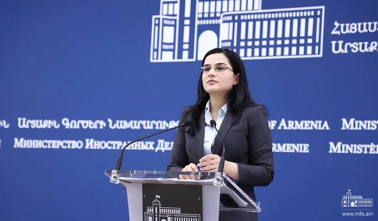 Comment by Foreign Ministry Spokesperson on Azerbaijani President Ilham Aliyev's speech at Valdai Discussion Club