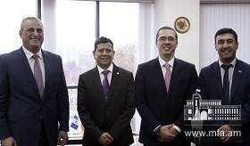 Deputy Foreign Minister of Armenia received the delegation of Guatemala