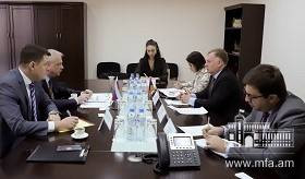 Political consultations between Foreign Ministries of Armenia and Russia