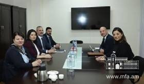 Deputy Foreign Minister of Armenia received the Chairman of the Mexico-Armenia Parliamentary Friendship Group