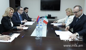 Political consultations between Foreign Ministries of Armenia and Italy