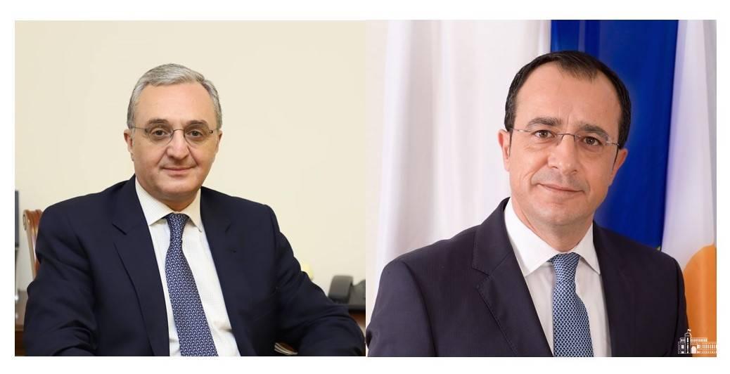 Entretien téléphonique du ministre des Affaires étrangères d'Arménie avec son homologue chypriote