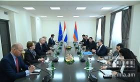 Foreign Minister Zohrab Mnatsakanyan's meeting with Stef Blok, Foreign Minister of the Kingdom of the Netherlands.