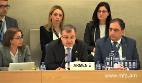 The discussion of the Armenian National Report of the UN Universal Periodic Review