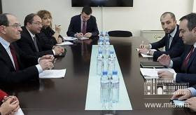 Meeting between Deputy Foreign Ministers of Armenia and Georgia