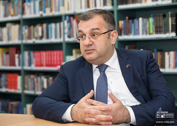 "Interview of Deputy Foreign Minister Artak Apitonian to ""Mediamax"" news agency"