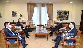 Meeting of Foreign Minister Zohrab Mnatsakanyan with Foreign Minister of Artsakh Masis Mayilian