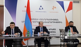 Deputy Foreign Minister participated  in the meeting of the CIS Economic Council