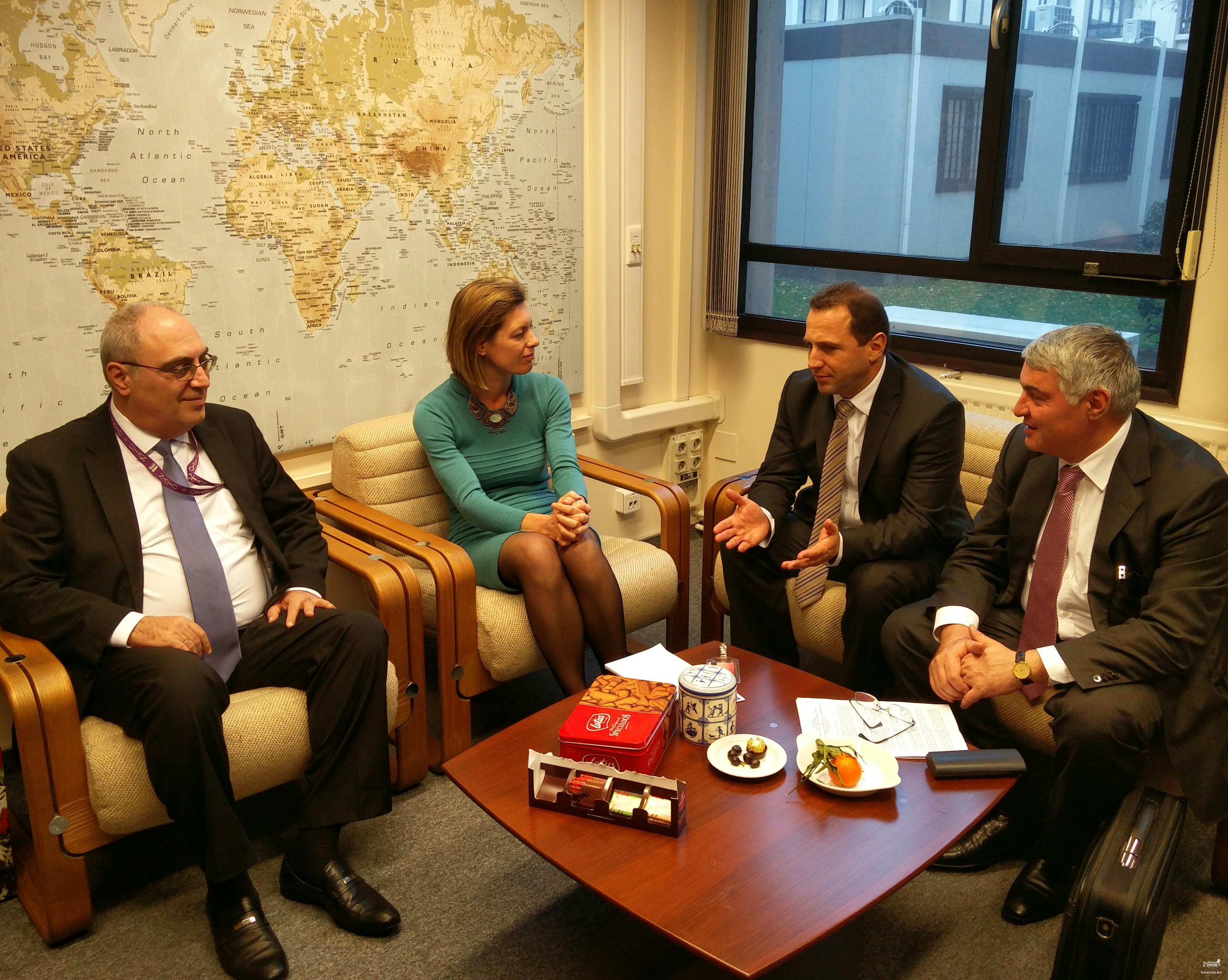 The working visit of the delegation of the Republic of Armenia to the NATO Headquarters