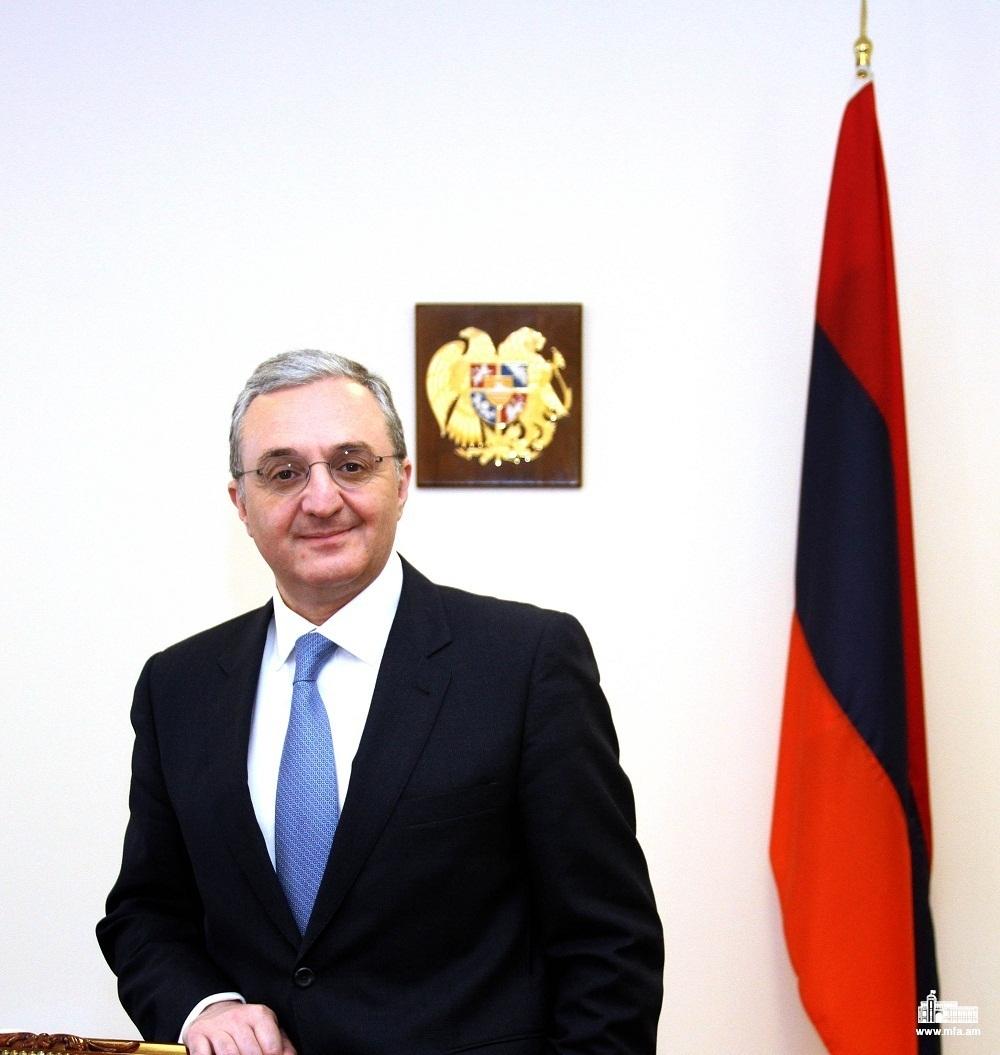 Зограб Мнацаканян продолжает получать поздравительные послания по случаю назначения на должность министра иностранных дел