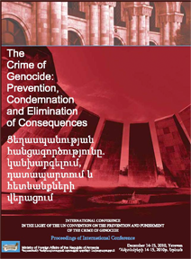 The Crime of Genocide: Prevention, Condemnation and Elimination of Consequences