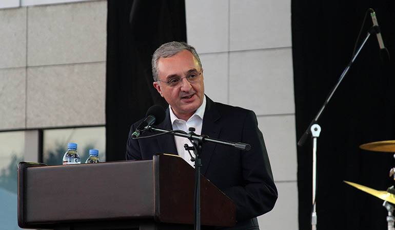 Remarks by Minister of Foreign Affairs of Armenia Zohrab Mnatsakanyan at the reception on the occasion of Independence Day of the United States of America