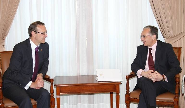 Foreign Minister Zohrab Mnatsakanyan received Permanent Under Secretary of the United Kingdom Foreign and Commonwealth Office