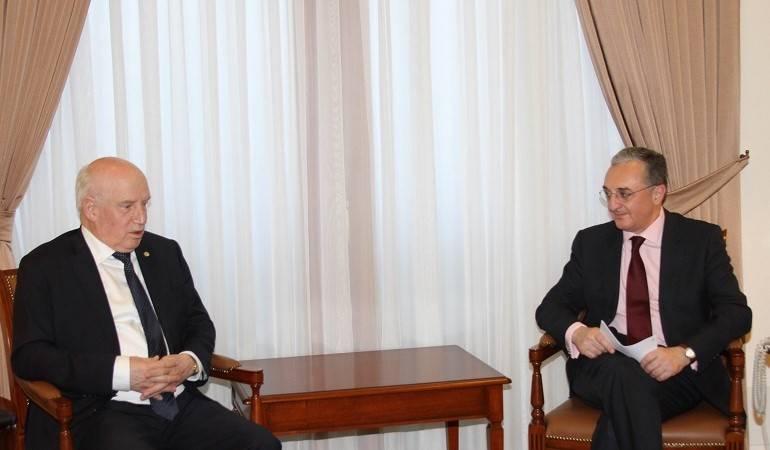 Foreign Minister received the CIS Executive Secretary