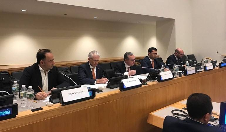 "Foreign Minister Zohrab Mnatsakanyan chaired ""Innovation, Impact Investment and the SDGs - Tools for Advancing Reforms"" High-Level Panel"