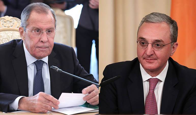 Foreign Minister of Armenia had a phone conversation with his Russian counterpart