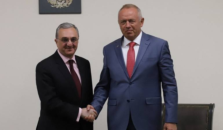 Meeting of Minister of Foreign Affairs with the Deputy Minister of Defense of Russia