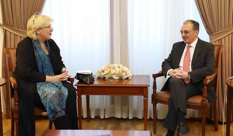 Հայաստանի արտգործնախարարը հանդիպեց Եվրոպայի խորհրդի մարդու իրավունքների հանձնակատարին