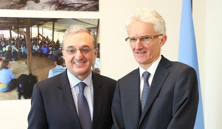 Встреча министра иностранных дел с заместителем Генерального секретаря ООН по гуманитарным вопросам и Координатором чрезвычайной помощи