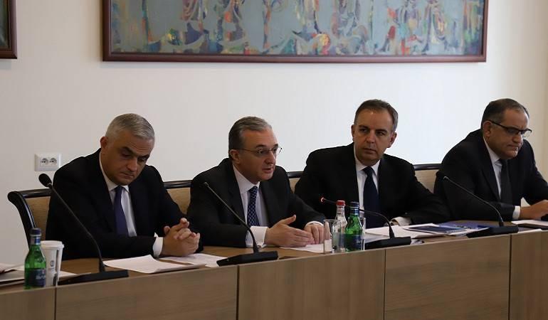 Встреча между представителями правительства и гражданского общества по вопросам повестки дня отношений Армении и Евросоюза