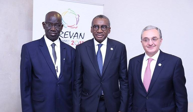 Meeting of Foreign Ministers of Armenia and Senegal