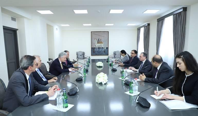 Հայաստանի արտգործնախարարի և ԵՄ Եվրոպայի և Կենտրոնական Ասիայի հարցերով գործադիր տնօրենի հանդիպումը