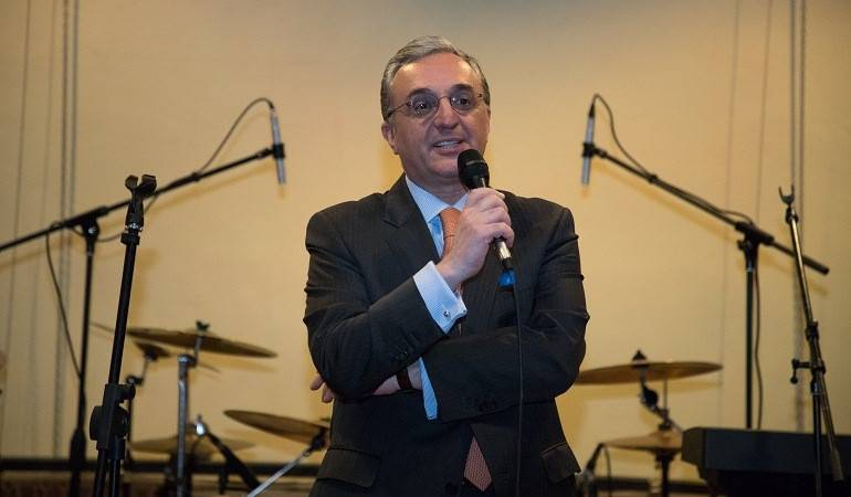 Remarks by Foreign Minister Zohrab Mnatsakanyan at UN Day Reception