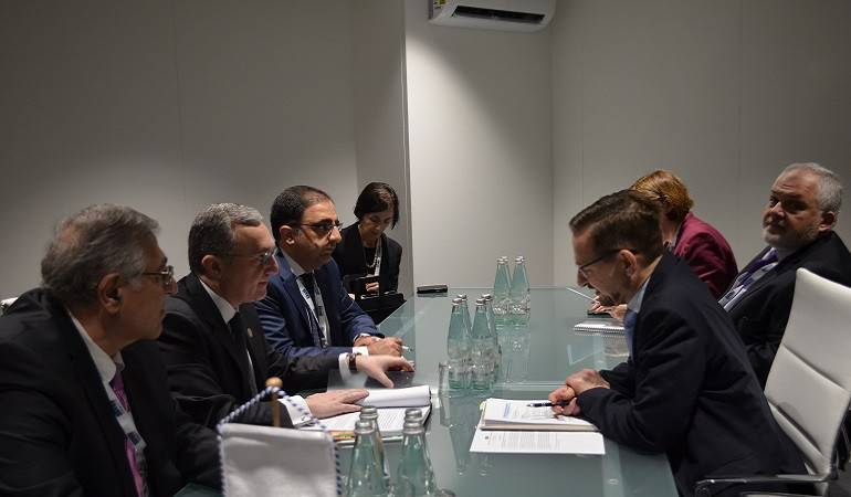 Acting Foreign Minister Zohrab Mnatsakanyan met with the OSCE Secretary-General