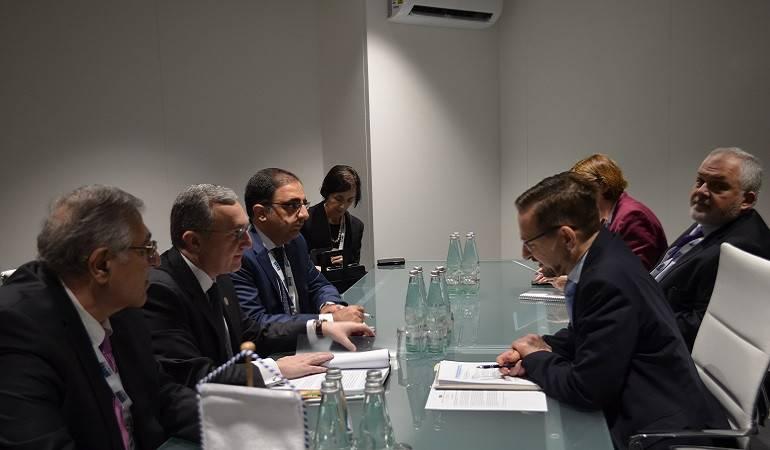 Հայաստանի ԱԳ նախարարի պաշտոնակատարը հանդիպեց ԵԱՀԿ գլխավոր քարտուղարին
