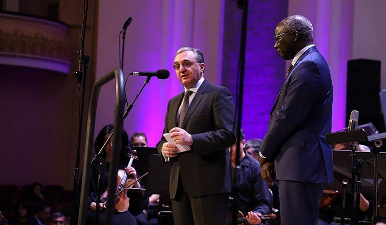 Remarks by Zohrab Mnatsakanyan at the concert dedicated to the 70th anniversary of the Convention on the Prevention and Punishment of the Crime of Genocide