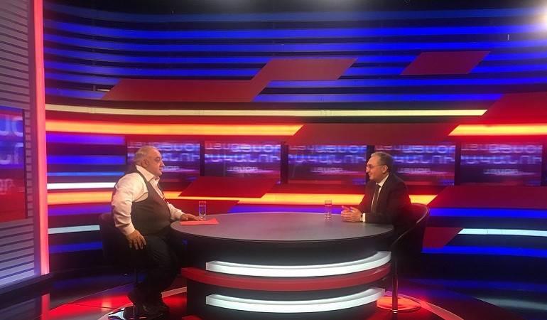 ԱԳ նախարարի պաշտոնակատար Զոհրաբ Մնացականյանի հարցազրույցն «Այսօր իրականում» հարղորդաշարին